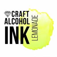 Алкогольные чернила Craft Alcohol INK, и, Lemonade, Яркий лимонный, 20 мл.