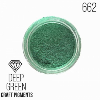 "Пигмент CraftPigments, з, Темно-зеленый ""Deep green"", 25 мл."