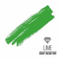 Краситель для смолы и полимеров CraftResinTint, з, Лайм, 10 мл.