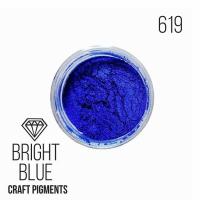 """Пигмент CraftPigments, с, Ярко-синий """"Bright Blue"""", 25 мл."""