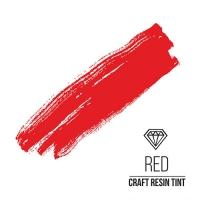 Краситель для смолы и полимеров CraftResinTint, к, Ярко-красный, 10 мл.