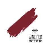 Краситель для смолы и полимеров CraftResinTint, к, Винно-красный, 10 мл.