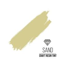 Краситель для смолы и полимеров CraftResinTint, ж, Песочный, 10 мл.