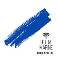 Краситель для смолы и полимеров CraftResinTint, с, Ультрамарин, полупрозрачный, 10 мл.