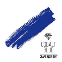 Краситель для смолы и полимеров CraftResinTint, Синий кобальт, полупрозрачный,10 мл.