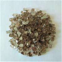 Стекло ЗАКАЛЕННОЕ, цвет бронза с зеркальной стороной(средняя фр. 5-10 мм) 250 гр./упак